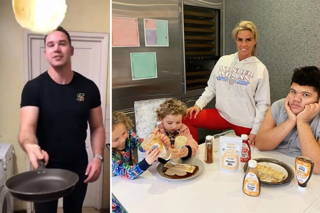 Fans Left Confused As Katie Price And Kieran Hayler Both Claim To Be Spending Pancake Day With Their Kids Bunny And Jett Best Tv News