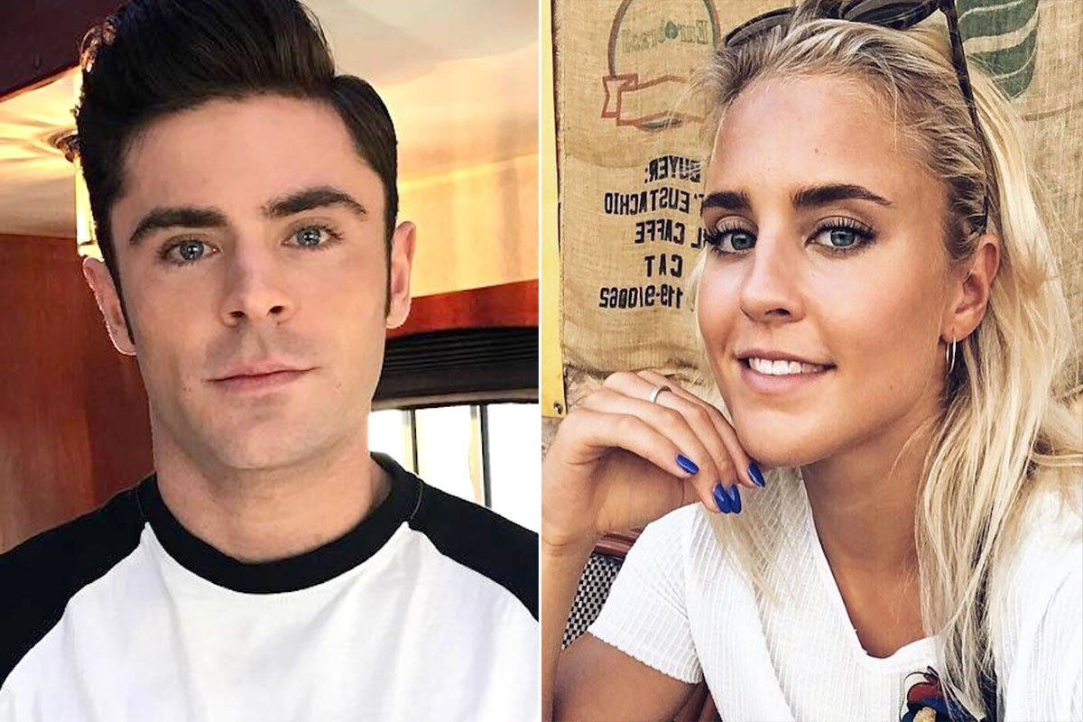 Is Zac Efron Dating Olympic Swimmer Sarah Bro? Pair
