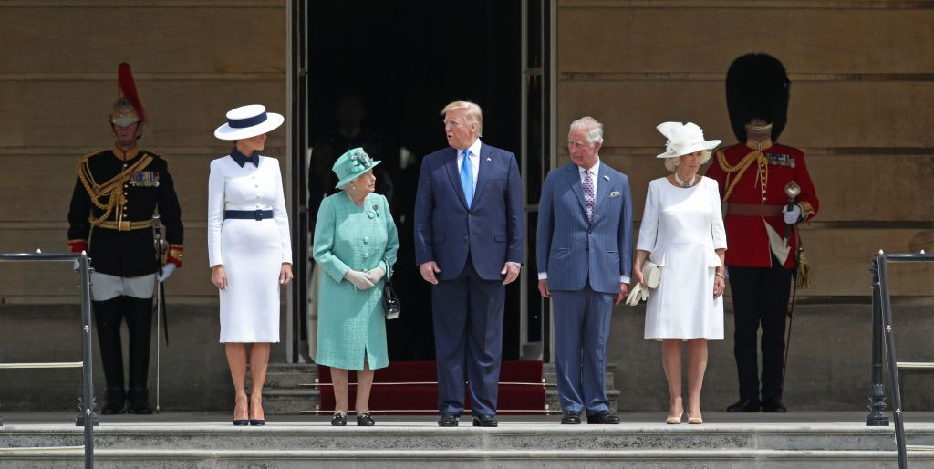 The Queen Greets the Trumps at Buckingham Palace | Best TV News