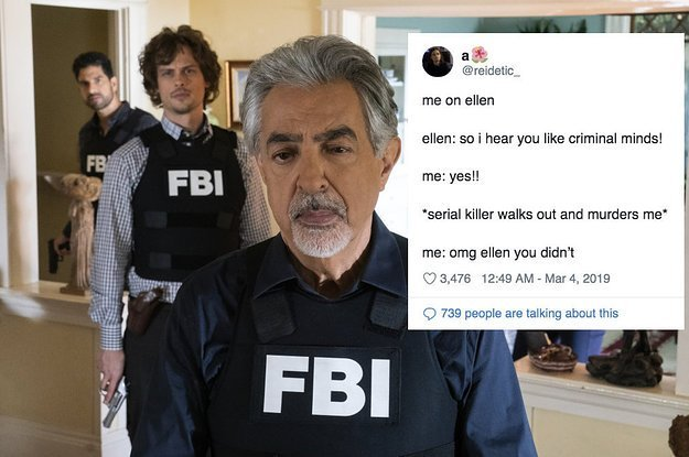 23 Tweets Anyone Who's Obsessed With Crime Shows Will