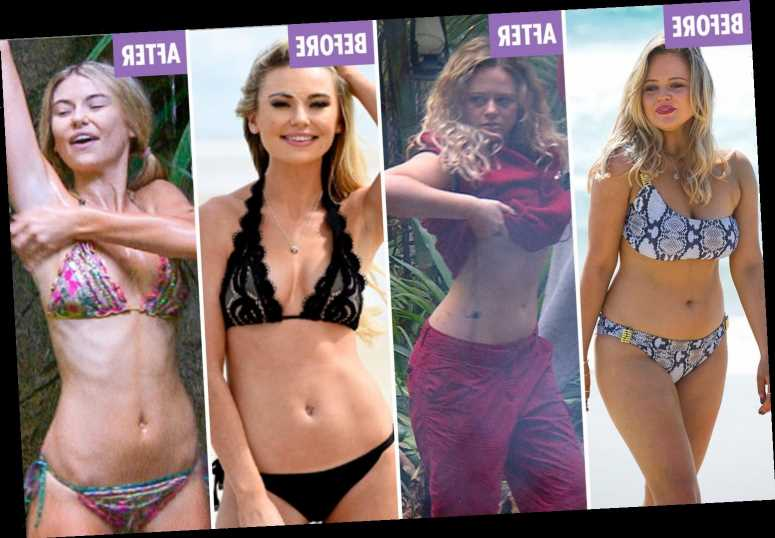 The Stars Who Lost The Most Weight On The I M A Celebrity Diet As Jacqueline Jossa Shows Off Extreme Weight Loss Best Tv News
